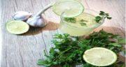 خواص جعفری و سیر ؛ طریقه مصرف معجون سیر و لیمو برای کبد